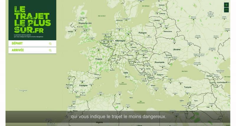 Groupama présente une plateforme pour calculer l'itinéraire le plus sûr pour son déplacement