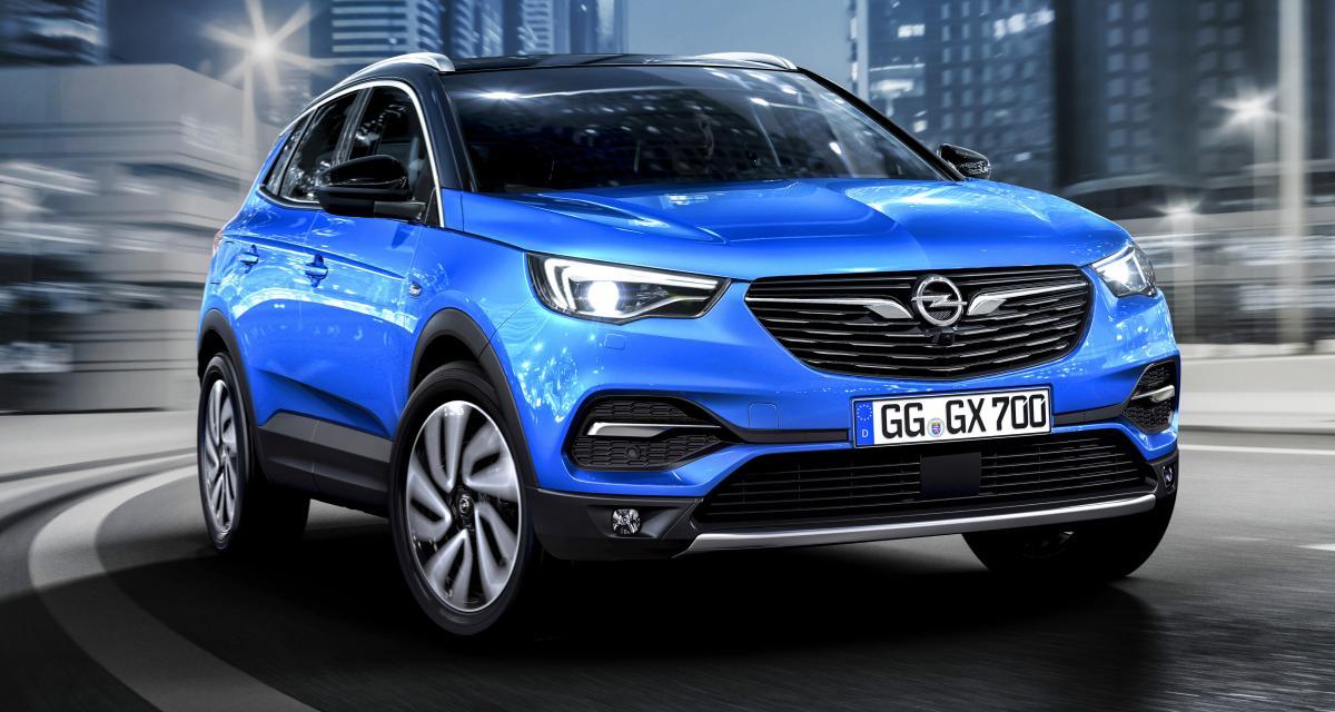 Opel Grandland X: le «blitz» réinvente le Peugeot 3008