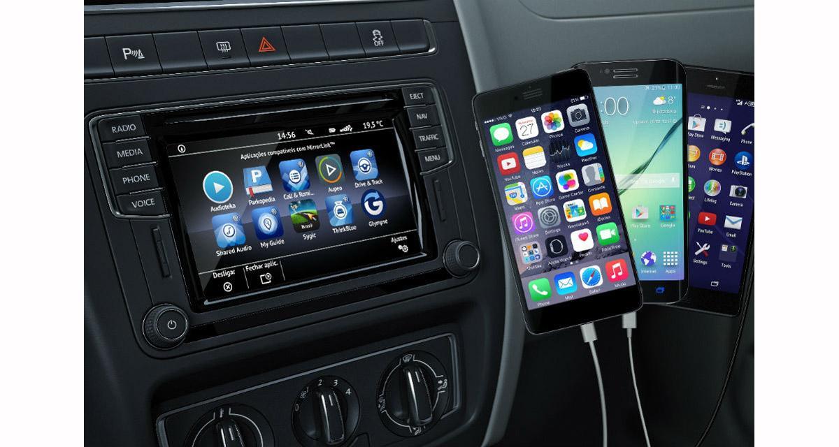 Dupliquer l'écran de votre Smartphone sur l'écran d'origine de la Golf 7 grâce à l'interface Nav Tool