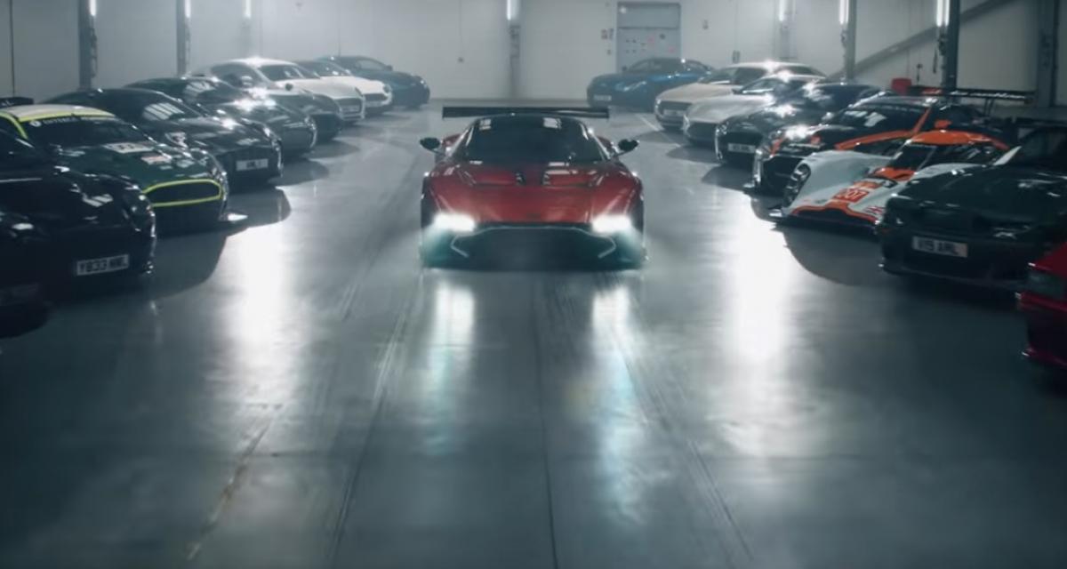Aston Martin nous réserve une surprise