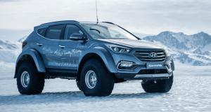 Le Hyundai Santa Fe à la conquête de l'Antarctique