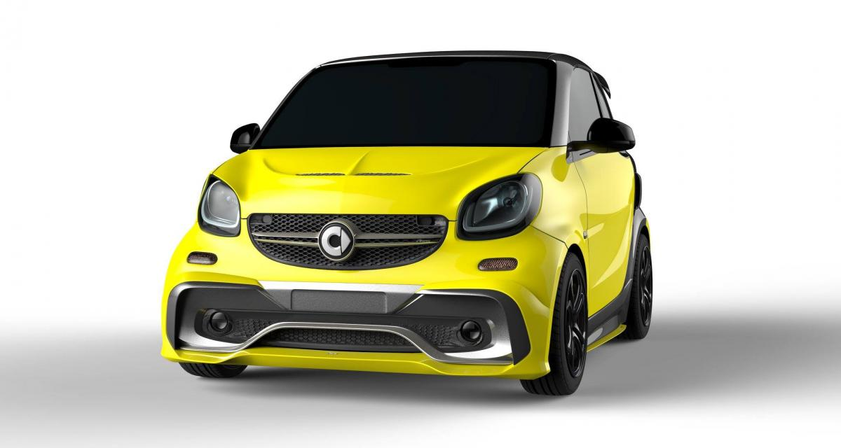 smart fortwo par aspec 123 ch et un look de mercedes amg. Black Bedroom Furniture Sets. Home Design Ideas
