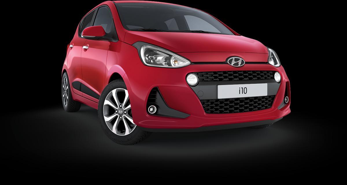 Hyundai i10 restylée : en ce moment à 85 euros par mois