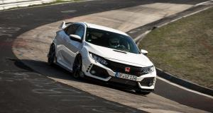 La nouvelle Honda Civic Type R devient la traction la plus rapide du Nürburgring