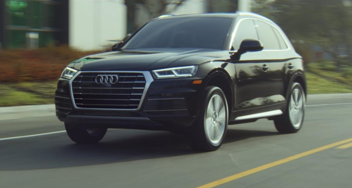 Audi se moque gratuitement du BMW X3 pour faire la pub du Q5