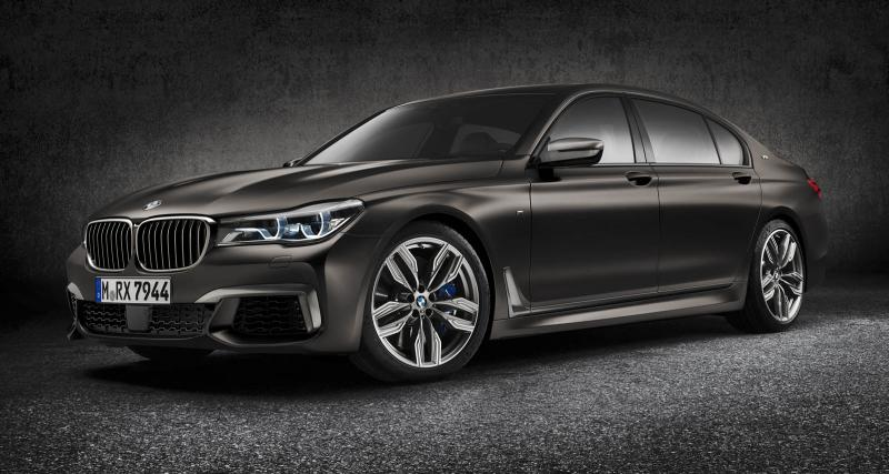 Le V12 de la BMW M760Li xDrive a des fuites d'huile
