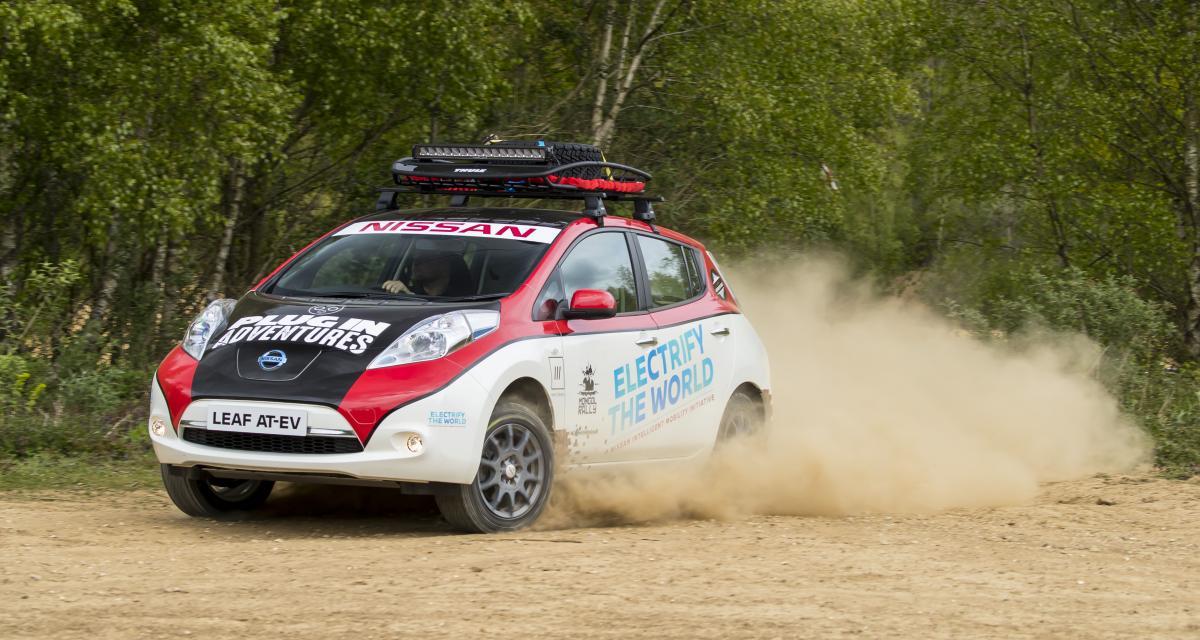 Un rallye entre le Royaume-Uni et la Mongolie pour la Nissan Leaf
