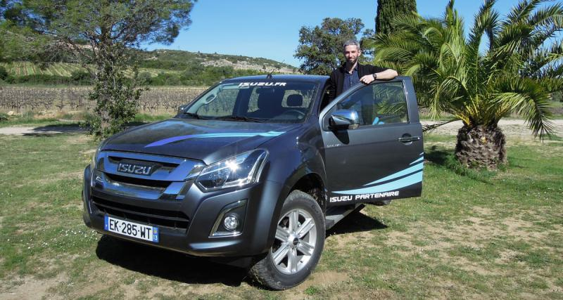 Essai Isuzu D Max MY17 : le plus pro des pick-up