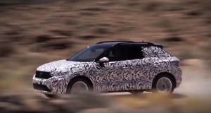 Volkswagen laisse sortir son T-Roc dans le désert