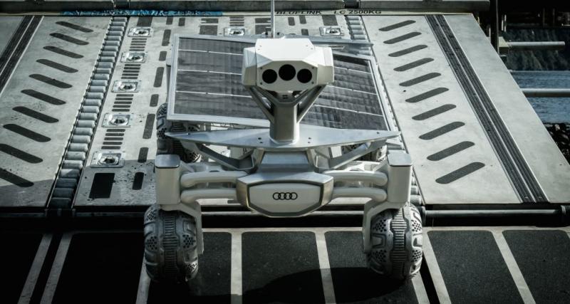 L'Audi Lunar Quattro à l'affiche du nouveau film Alien