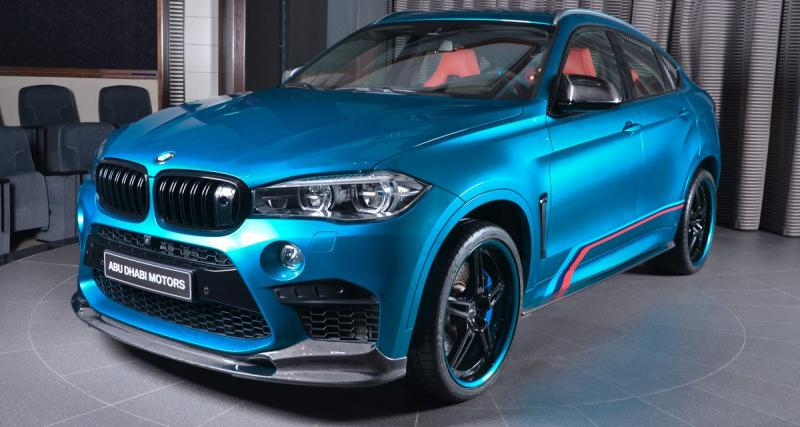 Ce BMW X6M respire beaucoup (trop?) le tuning