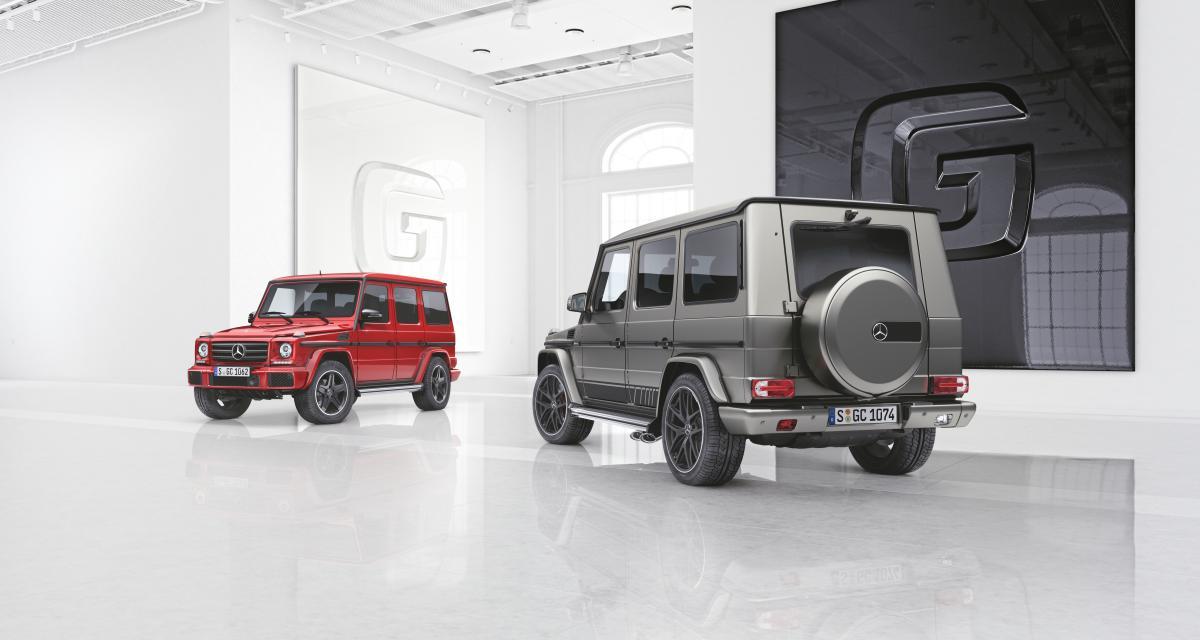 Mercedes Classe G : deux séries spéciales avant la retraite