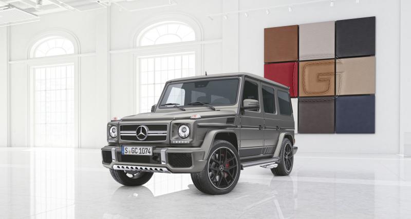 Près de 300 000 euros pour le G 65 AMG Exclusive Edition