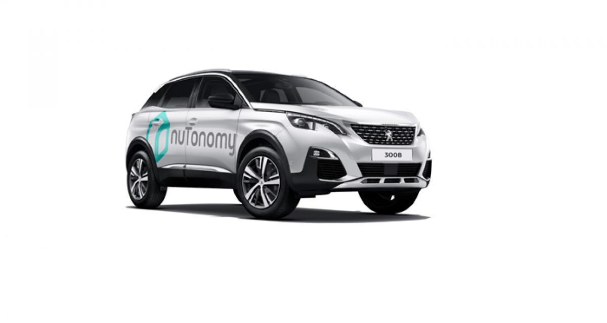 Le nouveau Peugeot 3008 devient autonome grâce à nuTonomy