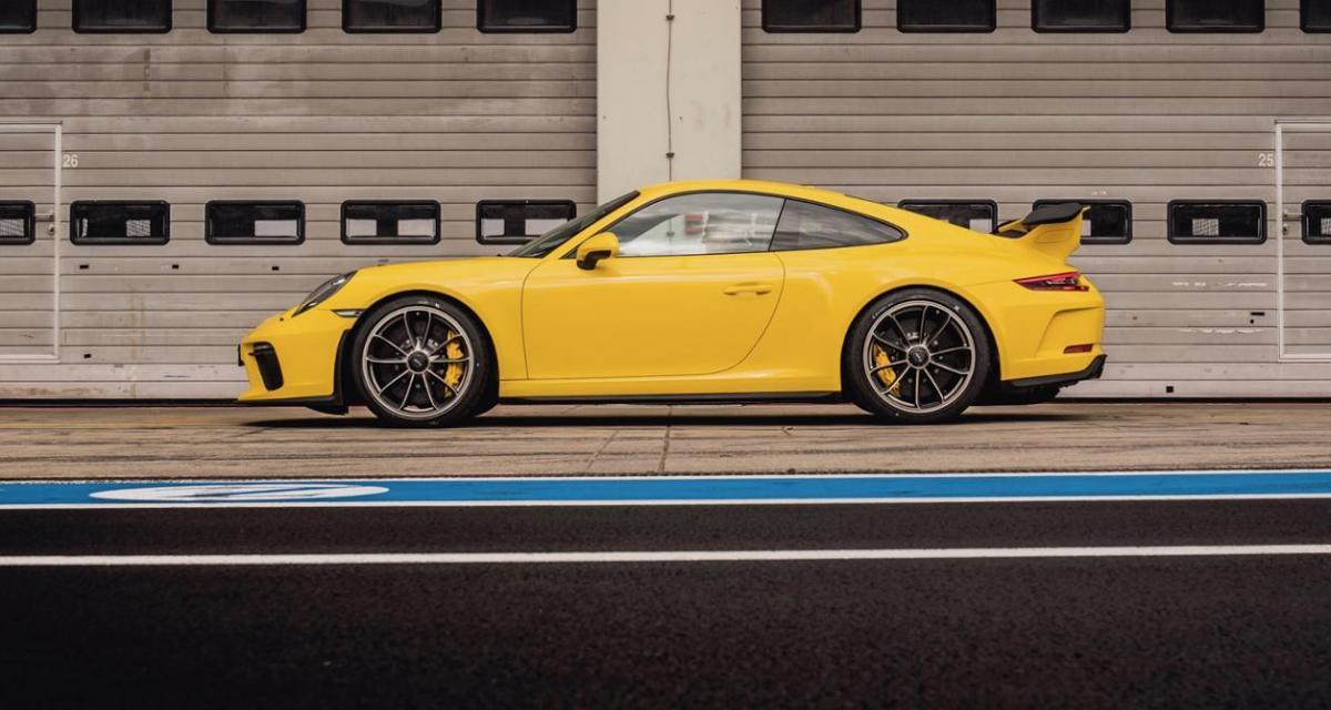 La nouvelle Porsche 911 GT3 beaucoup plus rapide que sa devancière sur le Nürburgring