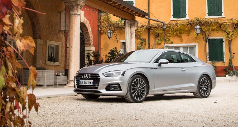 La nouvelle Audi A5 face à ses concurrentes