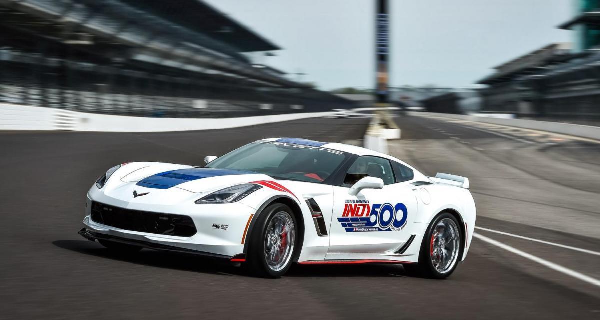 La Chevrolet Corvette Grand Sport se fait toute belle pour les 500 Miles d'Indianapolis