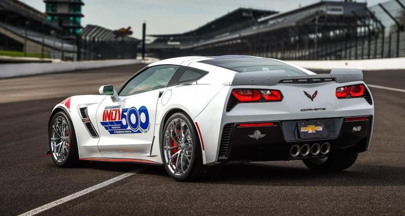 14e Corvette à être voiture de sécurité à Indianapolis