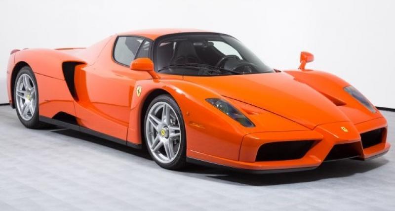 L'unique Ferrari Enzo Rosso Dino est à vendre pour plus de 3 millions d'euros