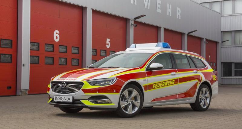L'Opel Insignia veut devenir pompier
