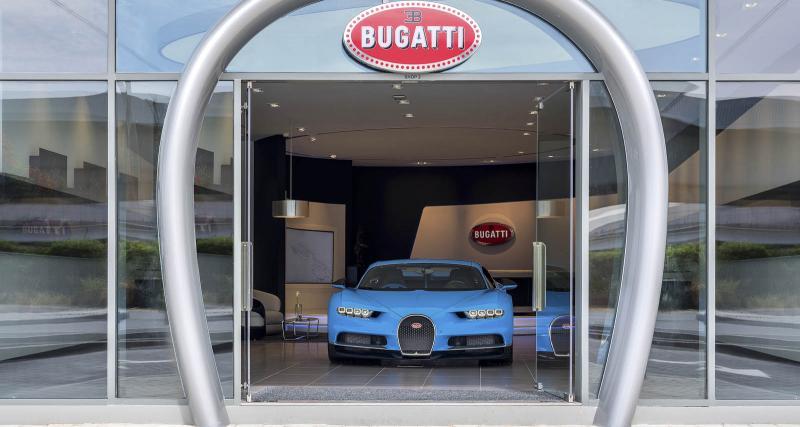 Bugatti ouvre son plus grand showroom à Dubaï