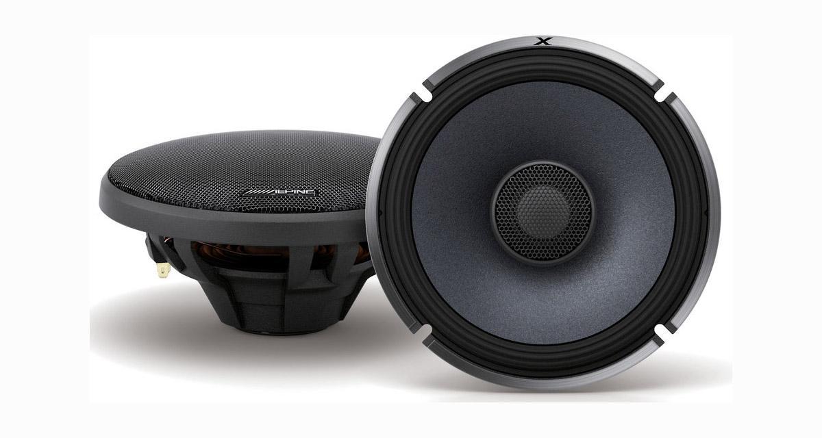 Alpine Electronics présente une nouvelle gamme de haut-parleurs hi-fi