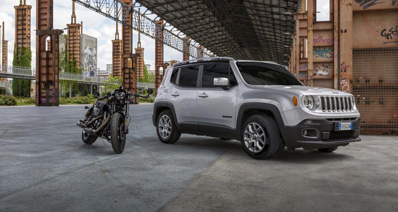 Jeep roulera encore en Harley-Davidson pour 2017