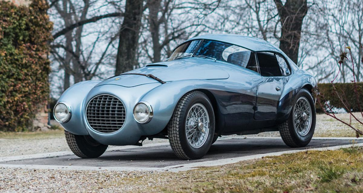 Voici l'Oeuf, une Ferrari unique estimée à plus de 5 millions d'euros
