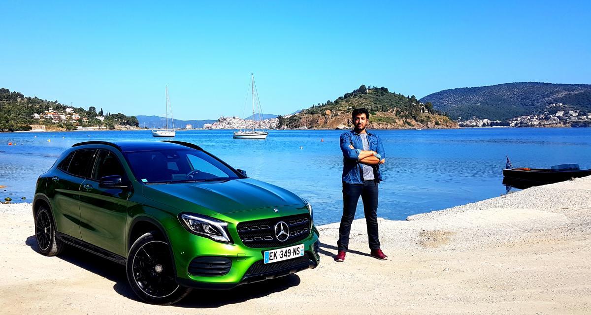 Essai Mercedes GLA restylé : SUV en trompe l'œil