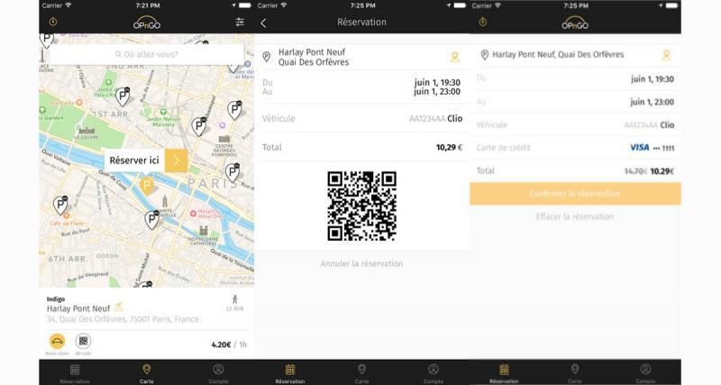 OPnGO : une application pour le stationnement à proximité des gares et des aéroports