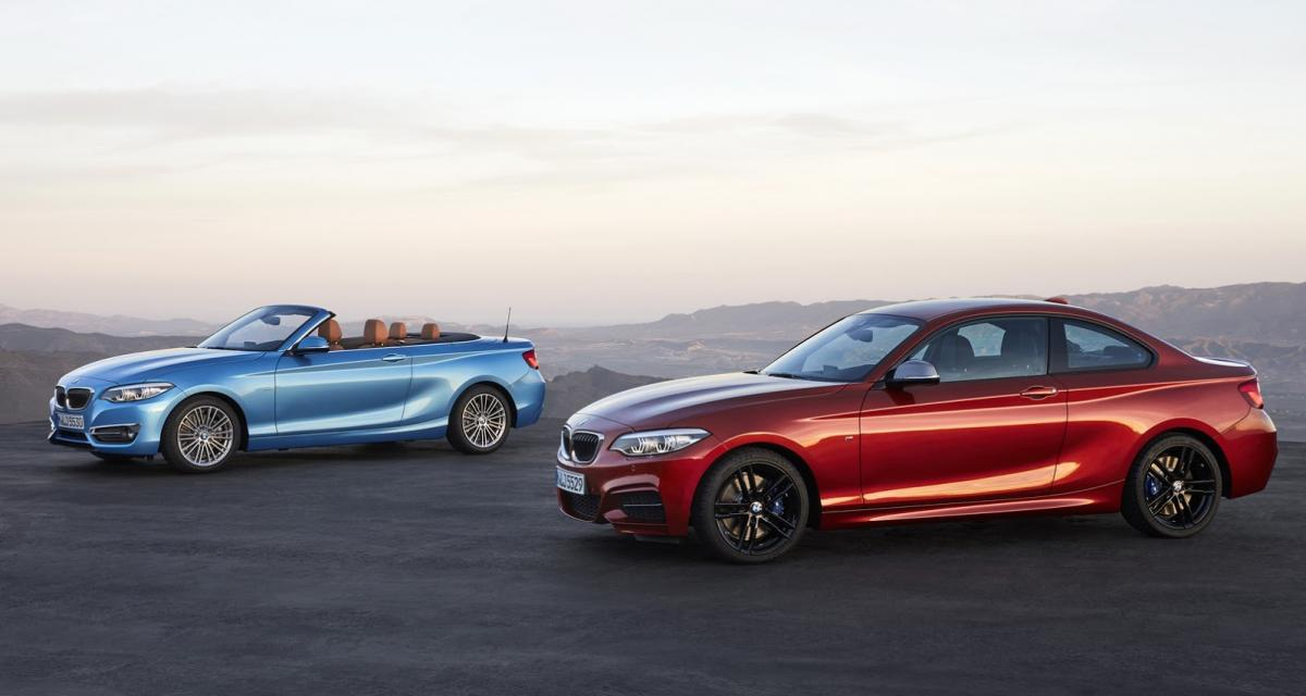 BMW Série 1 et Série 2 2017 : restylées sans vraiment l'être
