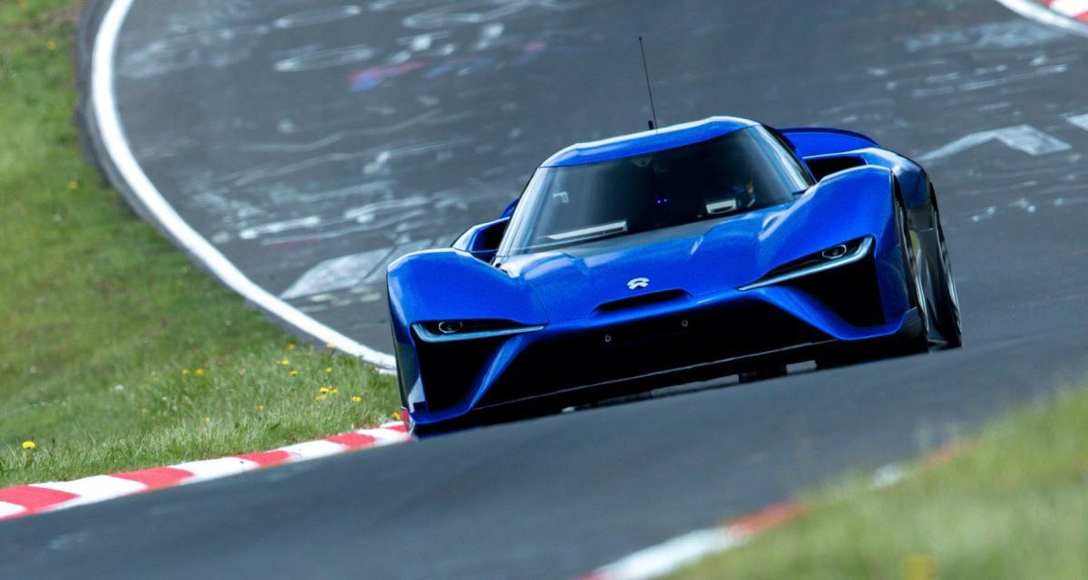 La NIO EP9 vient de battre la Lamborghini Huracan Performante sur le Nürburgring