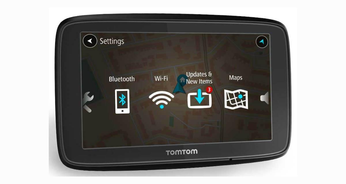 Tomtom dévoile un GPS portable avec WiFi intégrée et notifications Smartphone