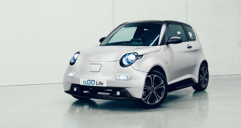 e.GO Life : de quoi mener la vie dure aux Smart Electric Drive ?