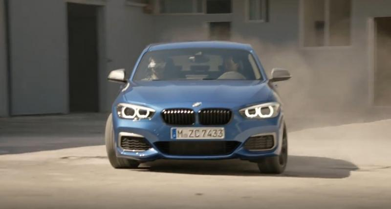 BMW M140i restylée : la pub avec du drift et des drones