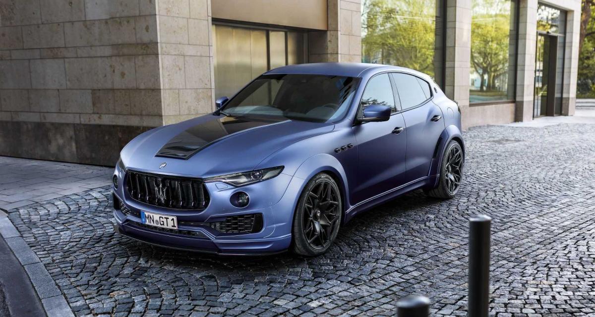 Novitec Tridente pose littéralement le Maserati Levante par terre