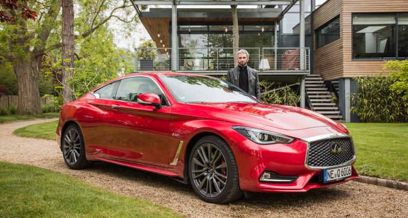 Essai Infiniti Q60 : l'alternative exotique