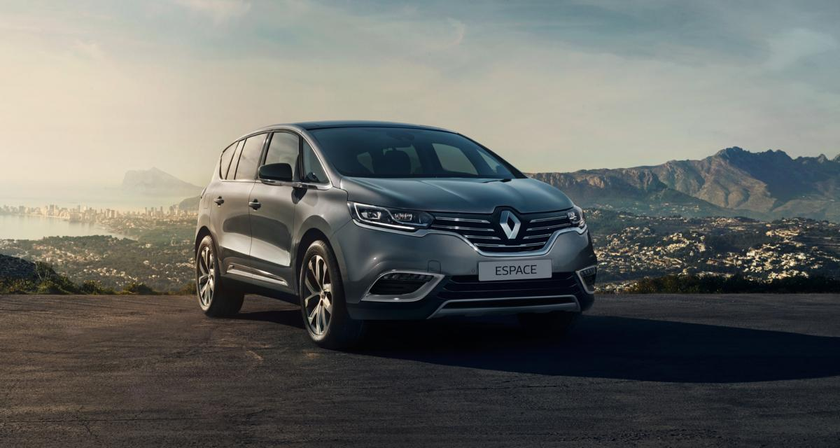 Renault Espace : maintenant avec le 1.8 turbo de l'Alpine A110