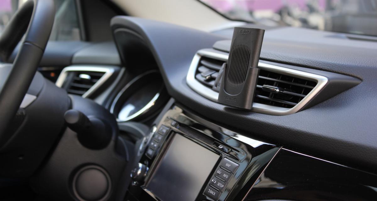 Scentys Capsy: le parfum chic pour l'automobile