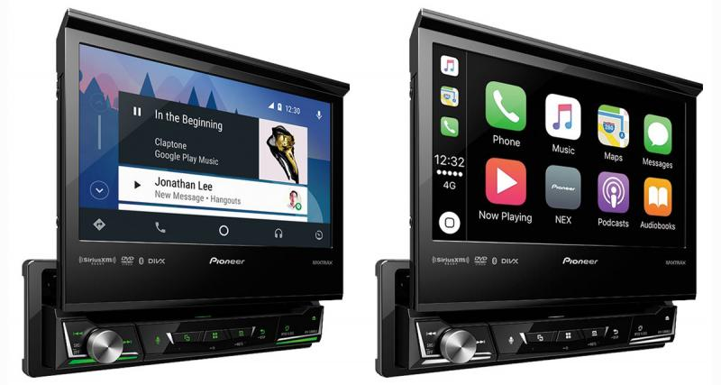 Pioneer présente une nouvelle gamme d'autoradios multimédia NEX