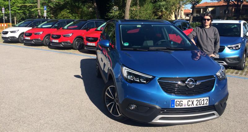 Essai Opel Crossland X : ''french touch'' comprise