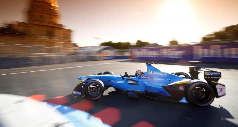Formule E - ePrix de Paris : Renault s'impose à domicile
