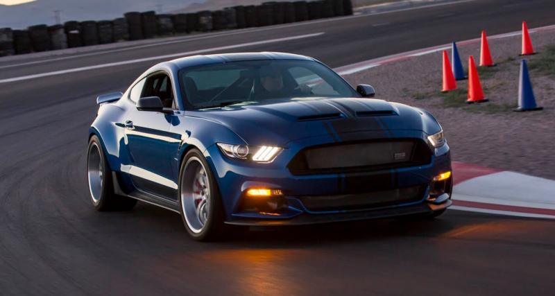 Shelby Super Snake Widebody Concept : la Mustang en taille XXL