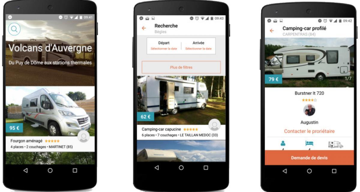 Pourquoi ne pas louer un camping car un particulier pour for Location de garage pour camping car