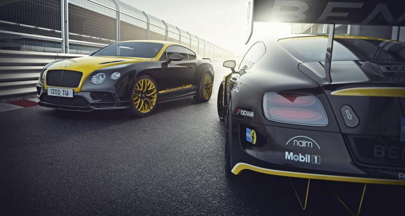 Bentley Continental 24 : la Supersports en mode 24 Heures du Nürburgring