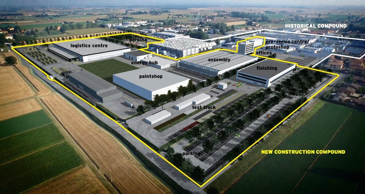 L'usine Lamborghini va embaucher et doubler de volume pour accueillir l'Urus