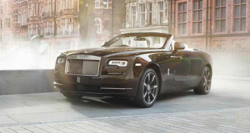 Rolls-Royce Dawn Mayfair Edition : cuivre précieux