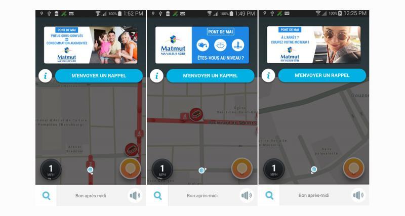 La Matmut lance une campagne de sécurité routière sur l'application Waze