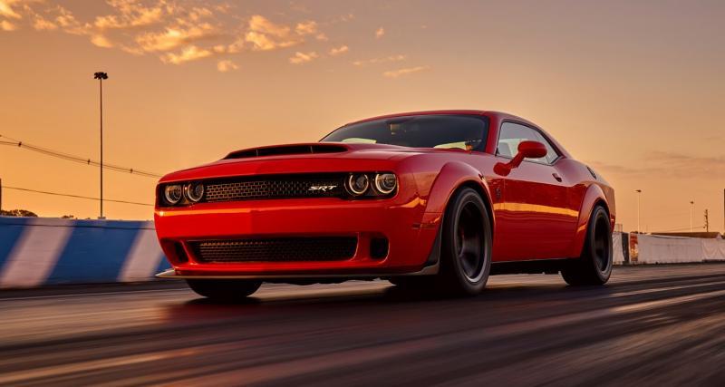 Dodge Challenger SRT Demon : seulement 85 000 dollars