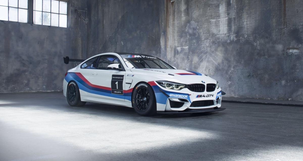 BMW M4 GT4 : l'hélice pour la piste